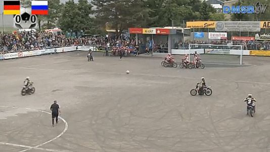 From Now On All Soccer Should Be Played On Motorcycles