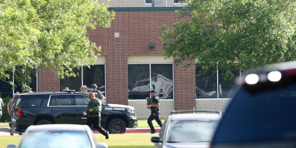The suspect in the Santa Fe high-school shooting has been identified as 17-year-old Dmitrios Pagourtzis