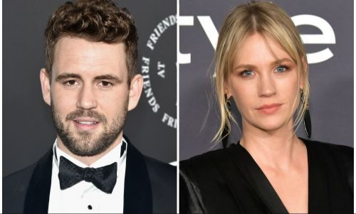 January Jones Is Reportedly Dating Former 'Bachelor' Nick Viall and We're Confused