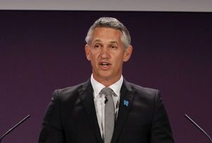 FIFA critic Lineker picked to host World Cup draw in Moscow