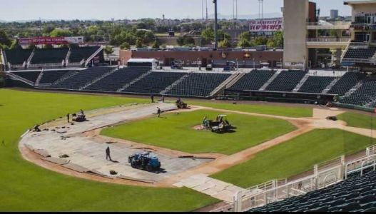 What does it take to transform Isotopes Park into NM United soccer field?