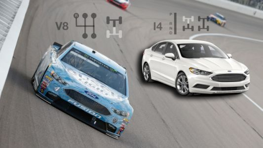 Here's How Modern NASCAR Race Cars Compare To Their Road-Going Counterparts