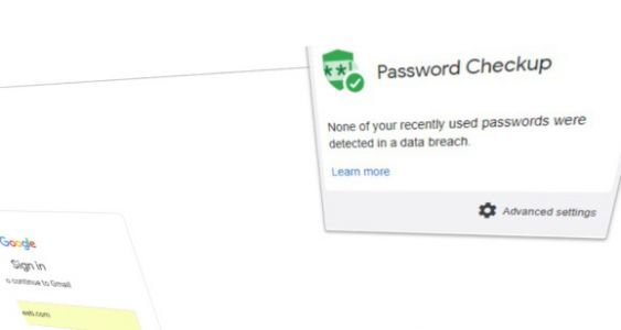 Google launches Password Checkup Chrome extension to thwart data breaches