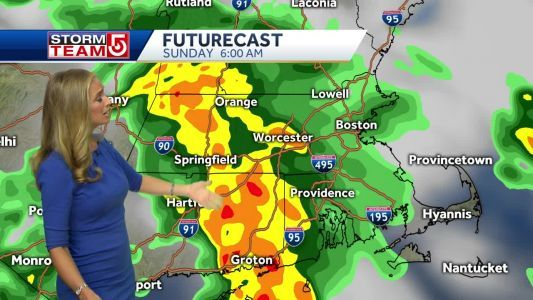 Video: Storms with chance for flooding possible throughout the day
