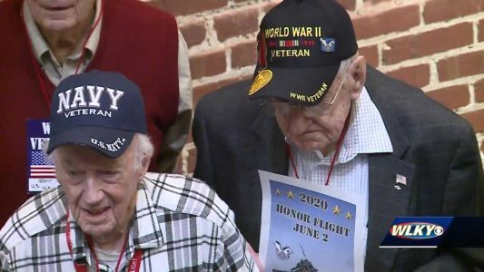 Honor Flight Bluegrass honors fallen soldiers on 78th anniversary of Pearl Harbor