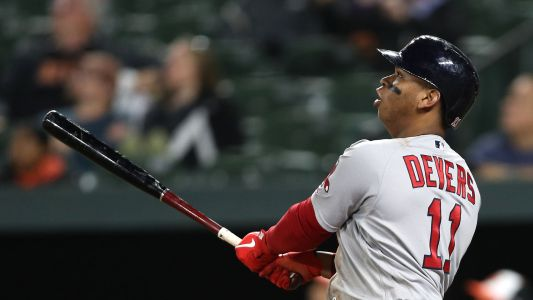 Red Sox's Rafael Devers robbed of home run by Minute Maid Park girder