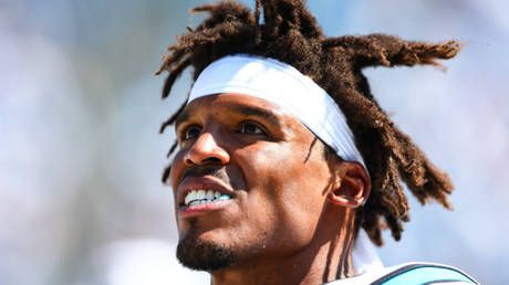 'I'm tired of all this humble sh*t': Sweat-soaked NFL star Cam Newton follows bizarre gym tirade with ANIMAL-THEMED rant