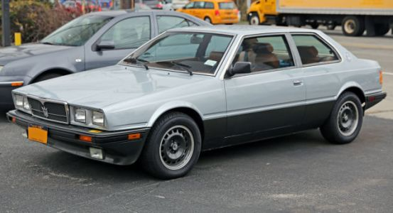The Maserati Biturbo Was A Bad Car That Saved A Brand