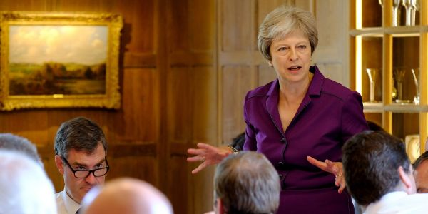 Theresa May's government has no deal Brexit plans for 84 areas of British life - here's the full list