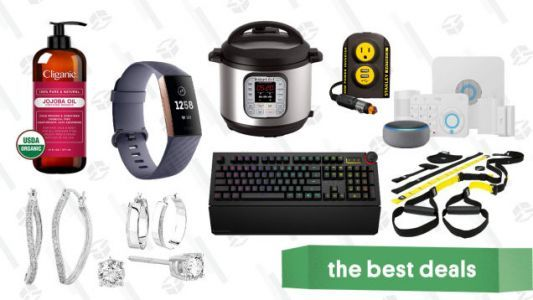 Friday's Best Deals: Diamond Jewelry, Fitbits, Ring Security, Backcountry, and More