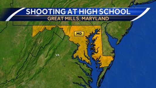 Shooting confirmed at Maryland high school; event 'contained'