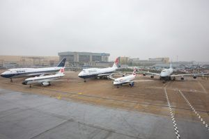 All Four British Airways Heritage Liveries Come Together To Mark The 50,000th Customer Flight