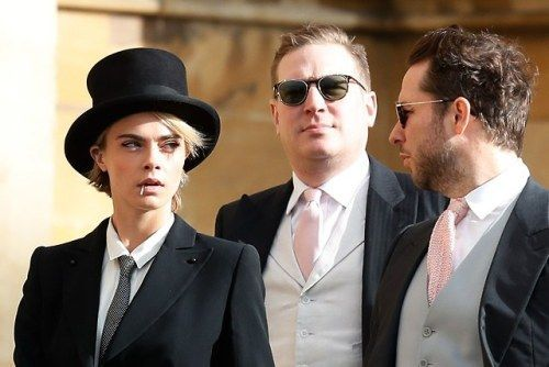 Cara Delevingne Broke Dress Code at the Royal Wedding and It Was