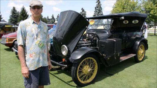 One Intrepid Motorist Is At Present Traversing The Nation In A 1919 Franklin Motor Car
