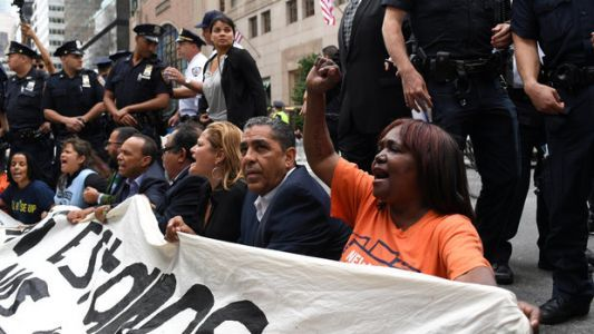 Latino Democrats Arrested Protesting Trump On Immigration