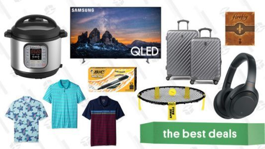 Wednesday's Best Deals: $50 Instant Pot, Firefly, Anker Exclusives, IZOD, and More
