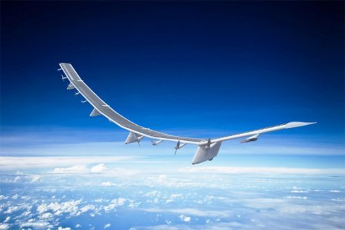 SoftBank unveils solar-powered internet drone, invests $125 million in Alphabet's Loon
