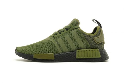 "Adidas' Winter-Ready NMD R1 ""Wool Heel"" Surfaces in Olive"