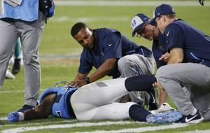 Titans' Pro Bowl tight end Delanie Walker on injured reserve