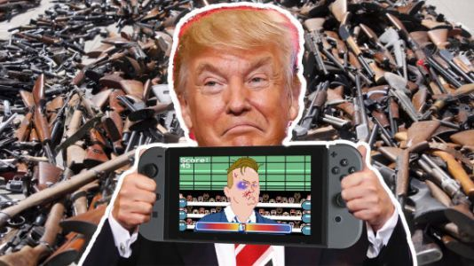 Trump's scapegoat meeting with game industry reps doesn't worry me
