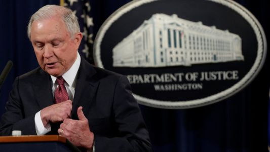 Jeff Sessions Defends Trump's Right To Speak Out Against Free Speech
