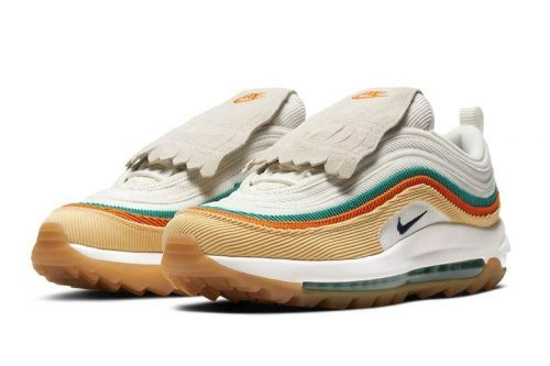 Golfers Are Having Mixed Feelings About Nike's Corduroy Fringed Golf Sneakers