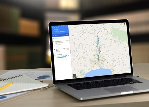 How to share a Google Maps route or location on your computer or smartphone