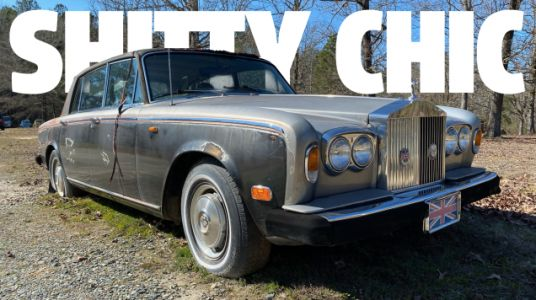 There's Something Weirdly Appealing About A Beat-To-Hell Rolls-Royce
