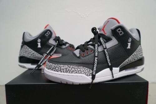 Interscope Records Launch Limited Edition Air Jordan 3