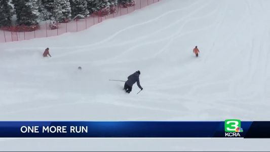 Skiers, snowboarders get in last runs at Squaw Valley