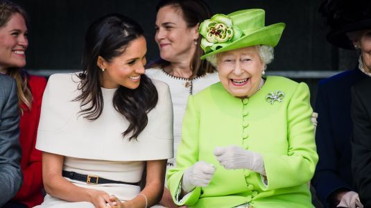Uh, Ouch! The Queen Reportedly 'Questioned' Why Meghan Markle Needed A Veil For Her 'Second Marriage'