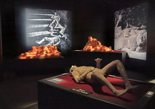 A blast from the past enthralls visitors at Carnegie Science Center's Pompeii exhibit