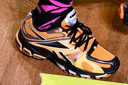 Latest Vetements x Reebok Sneakers Surface During FW19 Runway Show