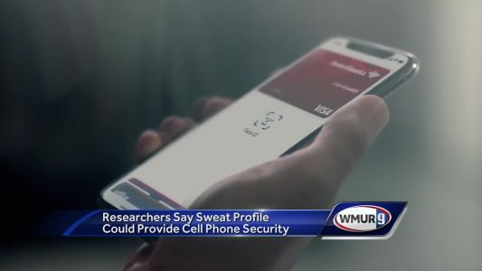 Researchers say sweat profile could provide cell phone security