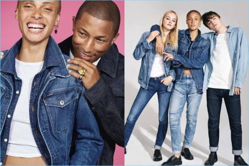 Lennon Gallagher & Connor Newall Join Pharrell for G-Star Fall '17 Campaign
