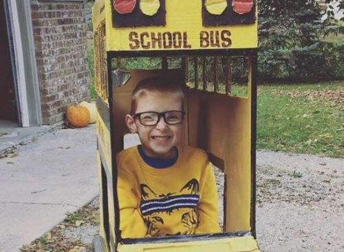Spina bifida isn't slowing down this boy's love of Halloween