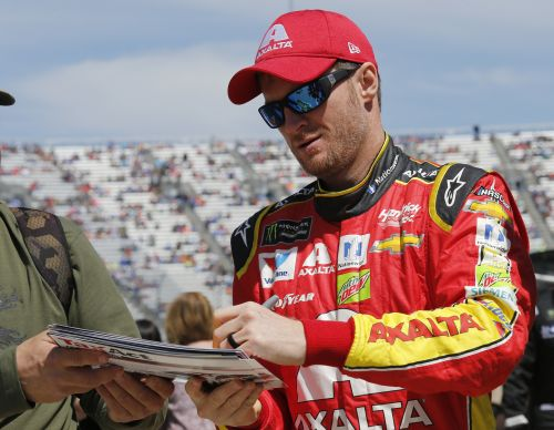 Dale Earnhardt Jr. announces he's about to become a dad