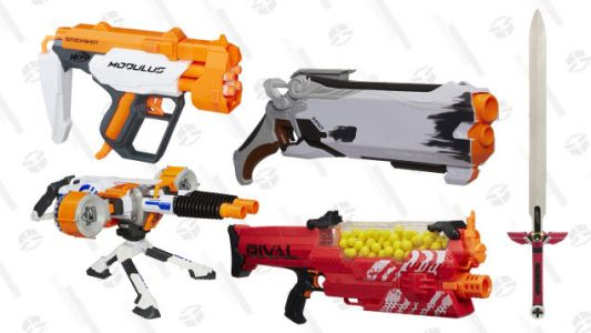 Today Only, Amazon's Discounting a Ton of Nerf Toys