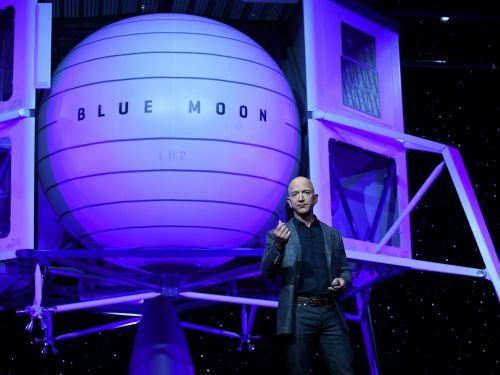 Jeff Bezos' Blue Origin rocket company has been deemed an essential business by the government, allowing it to continue operating amid the coronavirus outbreak