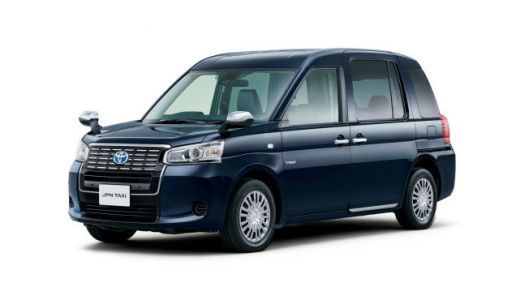 I Would Happily Zone Out In This New Toyota Taxi