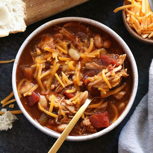 Crockpot Chicken Chili
