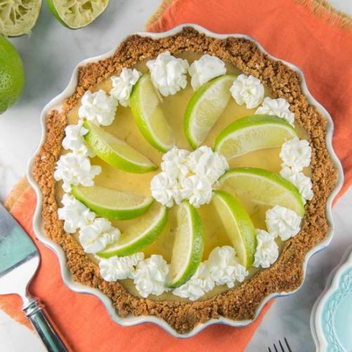 Tequila Lime Margarita Pie