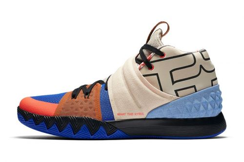 """Nike Unleashes the Eccentric """"What The Kyrie"""" S1HYBRID"""