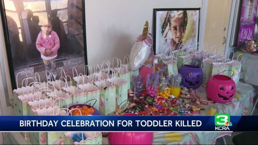 'It helps us heal': Birthday party held for child killed in shooting