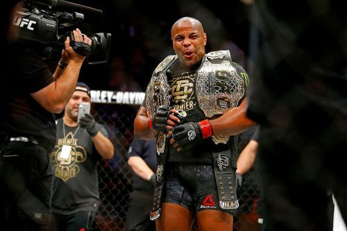 We're not going to make it easy for Daniel Cormier to retire when he wants, are we?