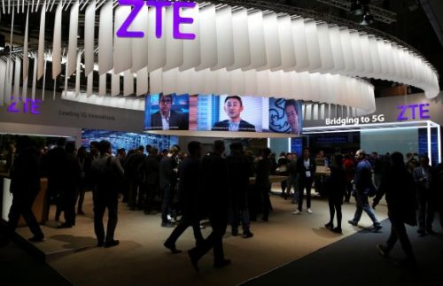 U.S. reaches deal to keep China's ZTE in business