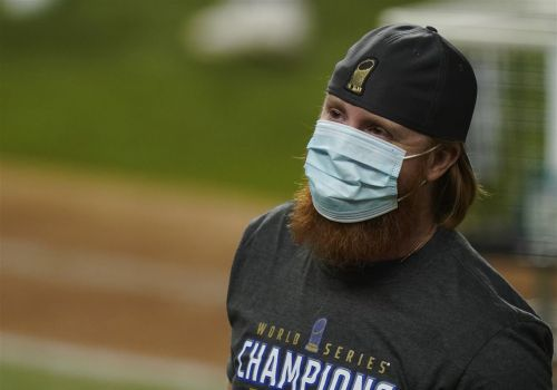 MLB says Justin Turner violated protocols when he returned to field after Dodgers' win