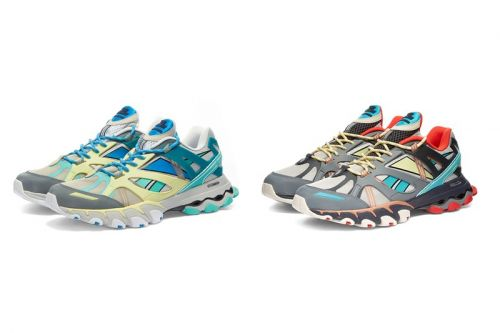 Reebok Drops DMX Trail Shadow With Vivid Turquoise Details