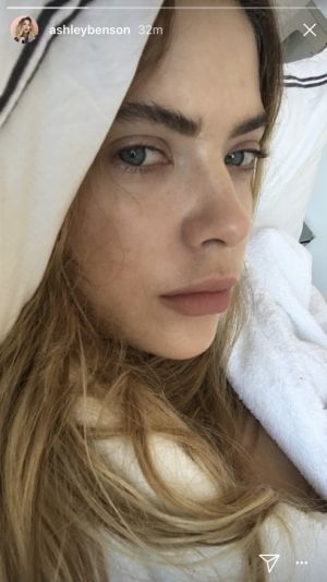 Ashley Benson Let Her Natural Beauty Shine in a Makeup-Free Selfie