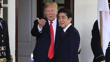Japan's Leader Nominated Trump For Nobel Prize At Washington's Urging: Report